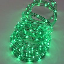 #Happy #Holidays #Christmas #Fall #Decorations Green LED Rope Light Christmas Light - oogalights.com