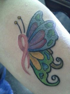 - I love this Breast Cancer Tattoo! -