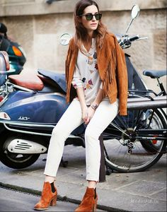 Мода и стиль: Как носить замшу весной 2016