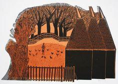 Oast Houses  23/30 by Robert Tavener