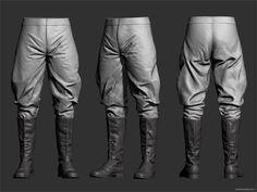 Soviet Officer 3D Breakdowns by Andor Kollar – zbrushtuts