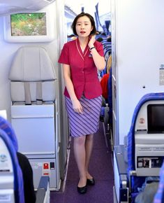 【China】 China Southern Airlines cabin crew / 中国南方航空 客室乗務員 【中国】 China Southern Airlines, Airline Cabin Crew, Chinese Culture, Flight Attendant, Like4like, China China, Asian, Shirt Dress, Beauty