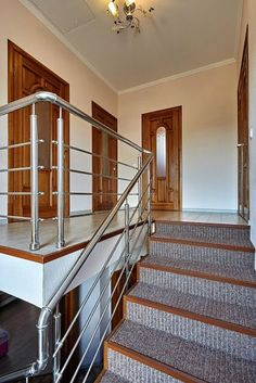 Why Would you Choose Steel Balustrades for Your Home Improvement?In today's world, one of the most eye-catching interior designing techniques is keeping Steel Stairs Design, Steel Grill Design, Staircase Railing Design, Steel Gate Design, Balcony Railing Design, Home Stairs Design, Home Building Design, Stair Design, Stair Handrail