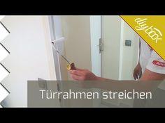 Türrahmen streichen - Anleitung @ diybook.at