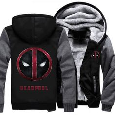 Men's Clothing Enthusiastic Superman Wade Wilson Deadpool Hoodies 2019 Autumn Winter Warm Men And Women Fleece Sweatshirts Hoodies Slim Fit