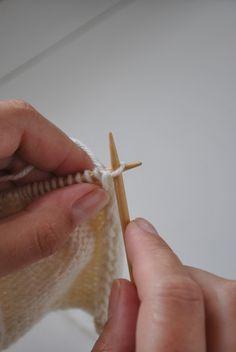 Cómo hacer un borde de puntos: Vuelta del revés Knitting Stitches, Knitting Patterns, Handmade, Crafts, Macrame, Asthma, Crocheting, Tutorials, Tips