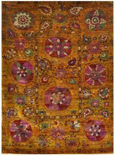 Size: x Construction: Hand Knotted. Sari Silk, Modern Rugs, Bohemian Rug, The Originals, Construction, Colors, Home Decor, Building, Decoration Home