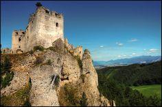 Lietava Castle ruins, Slovakia #castle