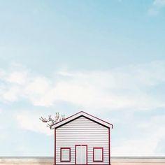 Casas solitarias Sejkko ha recorrido Portugal ha buscado escenas minimalistas para retratarlas. En esta ocasión se centro en casas solitarias que se pierden en el medio de la nada.