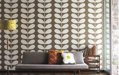 Karen Barlow: Orla kiely wallpaper collection