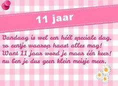 verjaardag meisje 11 jaar verjaardagskaart 11 jaar meisje   Verjaardagskaarten   Kaartje2go  verjaardag meisje 11 jaar