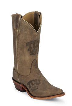 Love these TCU Nocona College Boots!