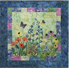 McKenna Ryan Bella Garden Party Quilt Pattern Butterlfy Butterflies Wildflowers | eBay