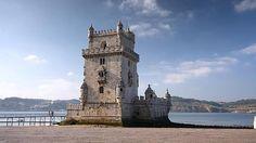 lLa Torre de Belém, junto al río Tajo, símbolo de la expansión portuguesa - Lisboa, Portugal