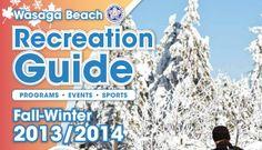 Recreation Guide 2013/2014! Wasaga Beach, Fall Winter, Sports, Hs Sports, Sport
