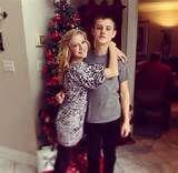 Pagie and her boyfriend