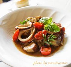 ルクエで簡単レシピ【イカのプロヴァンス(南仏)風トマト煮】|レシピブログ