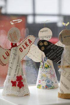 P a p i r & krøllede ideer | ideer til at være kreativ med papir og genbrug | Page 2