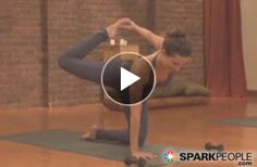 10-Minute Yoga-Pilates-Barre Fusion Workout: A dynamic twist on strength training, this 10-minute segment will give you a shapely, defined physique by combining yoga, Pilates, strength training, and deep-muscle movements. | via @SparkPeople #fitness #exercise #video #core #abs