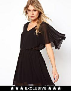 Love Cape Skater Dress on shopstyle.com