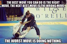 Brazilian Jiu-jitsu motivational meme
