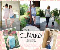 """Ebook """"Eleana"""" Damenshirt von 32 - 48"""