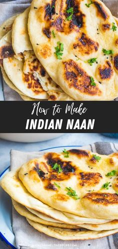 Indian restaurant-style naan bread made quick and easy with dough proofed in the Instant Pot + Tips to make that perfect naan at home! #instantpot #bread #naan #easy #naan #easy #recipe Quick Naan Bread Recipe, Indian Naan Bread Recipe, Make Naan Bread, How To Make Naan, Recipes With Naan Bread, Naan Recipe, Healthy Indian Recipes, North Indian Recipes, Gluten Free Naan
