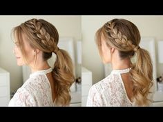 I have been on such a ponytail kick lately and just can't get enough of them. I wore this lace braid ponytail recently and posted a picture on the gram. Many of you had asked for a tutorial so I thought it'd be fun to…