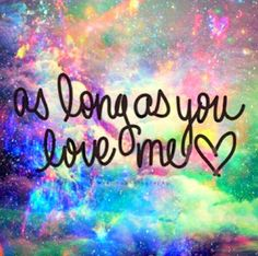 As Long As You Love Me-Justin Bieber ft. Big Sean