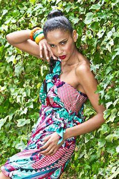 Sika - one-shoulder ruffle dress