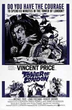 Tower Of London, Vincent Price Top Photograph