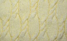 Twisted cable knit pattern - KnitHit