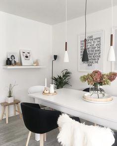 Die Schwarzen Armlehnstühle Fiber Wood Von Muuto Sind Absolute Trendsetter  Im Esszimmer. Das Schlichte Und