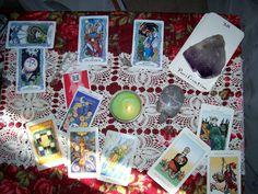 My tarot table