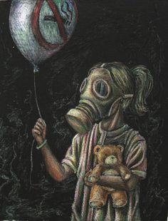 shit world Dogs pet world Gas Mask Drawing, Gas Mask Art, Masks Art, Gas Masks, Creepy Drawings, Art Drawings, Arte Lowrider, Post Apocalyptic Art, Plakat Design