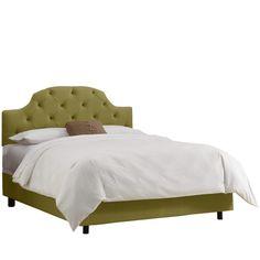Olivia Upholstered Platform Bed