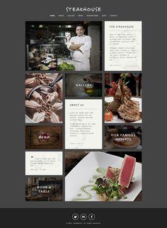 Steakhouse Wordpress theme