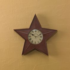 primitive stars wall clocks and clock on pinterest