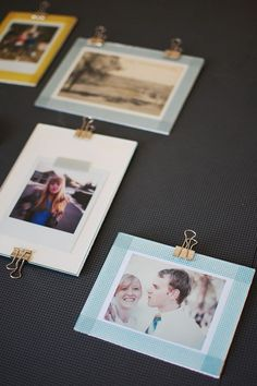 Make Your Holidays: a variety of DIY picture frame proejcts