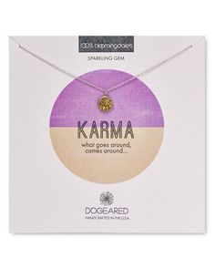 "Dogeared Karma Druzy Bezel Necklace, 16"" - 100% Bloomingdale's Exclusive"