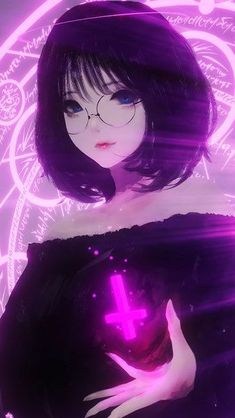 Anime Beautiful Girl Glasses Fantasy click image for HD Mobile and Desk. Fille Anime Cool, Cool Anime Girl, Pretty Anime Girl, Cute Anime Pics, Anime Art Girl, Manga Girl, Anime Love, Anime Girls, Gothic Anime Girl