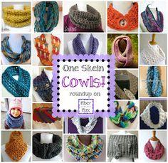 Fiber Flux...Adventures in Stitching: One Skein Cowls! 20+ Free Crochet Patterns...