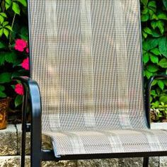 Who Knew You Could Replace The Slings On Patio Furniture?!? Definitely Need  To Replace Some On Our Chairs! | Outdoor Is Where I Love To Be | Pinterest  ...