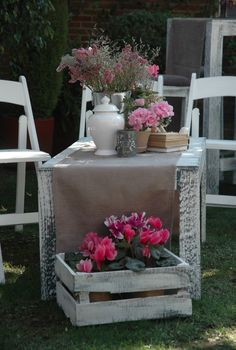Beautiful outdoors set with flowers that give space natural and colourful hint.