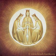 Bradi-Barth - couronnement de la vierge