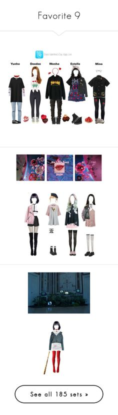 """Favorite 9"" by bangtan-outfit ❤ liked on Polyvore featuring Topman, DV, adidas, Retrò, T.U.K., Puma, VIVETTA, Chanel, Moschino and Zena"