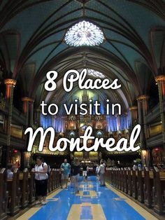 8 Places to Visit in Montreal · Kenton de Jong Travel - Nestled between the impressive Mount Royal and the majestic St. Lawrence River is Montreal, a city known for its festivals, abstract art, history a...
