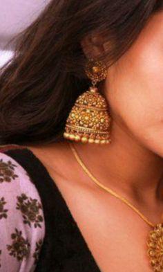 #jhumka #earrings #jewelry