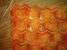 Ravelry: Vintage Fan Ripple Stitch Pattern pattern by Janis Cortese