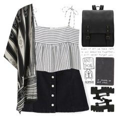 """live, that's all you can"" by scarlett-morwenna ❤ liked on Polyvore featuring MANGO, Love Quotes Scarves and vintage"